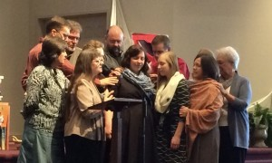 Gloria Showalter's commissioning to serve in Quito, Ecuador