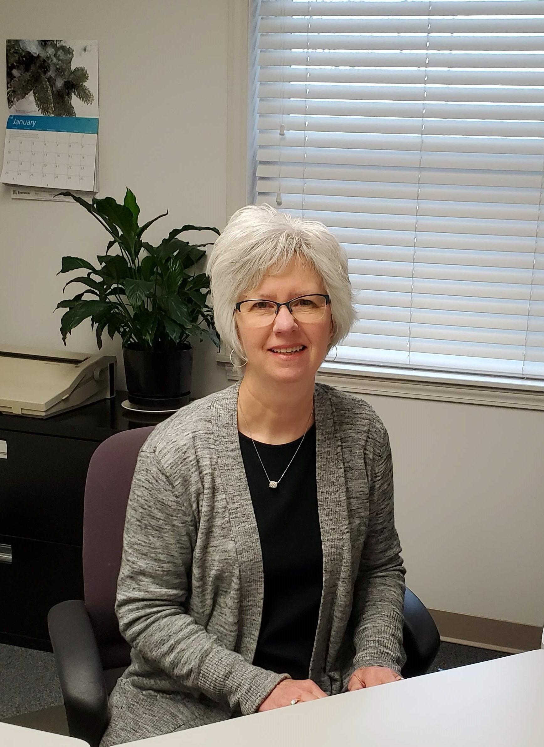 Joyce Lehman, Office Secretary